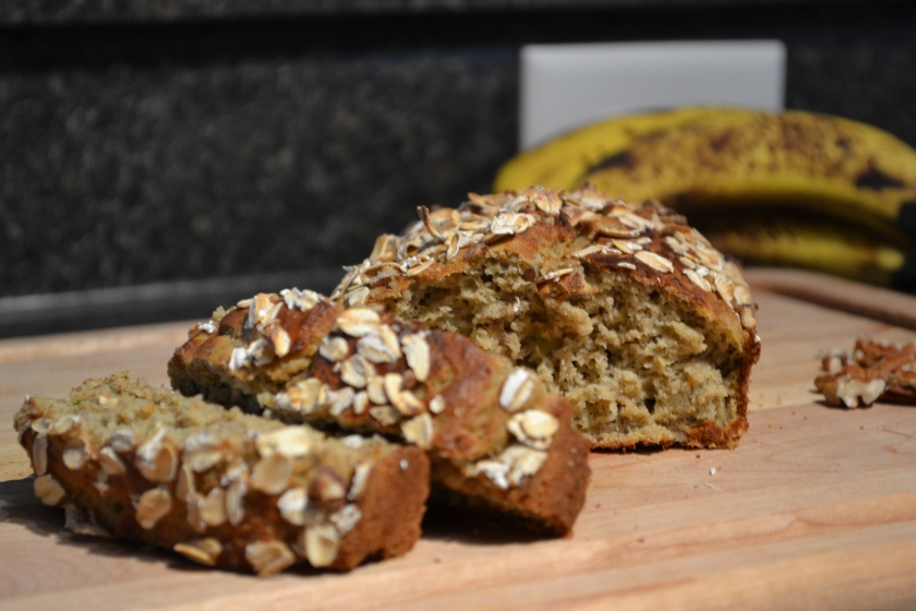 Oat Banana Nut Bread
